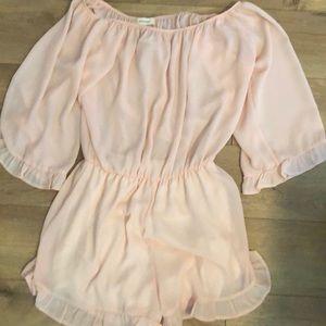 Brand NWT pastel pink sleeveless dress